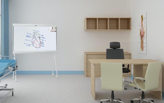 智慧医疗黑科技,华为企业智慧屏IdeaHub远程诊疗解决方案为医院人才培养助攻-智医疗网