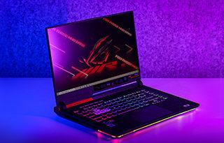 190W!全球首发AMD RX6800M ROG魔霸5R图赏