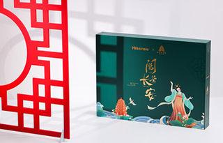 一目阅览长安繁华,海信TOUCH西安博物院联名礼盒图赏