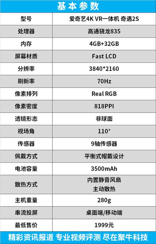 1999元 4K巨幕影院+畅玩Steam VR专业游戏 爱奇艺奇遇2S评测