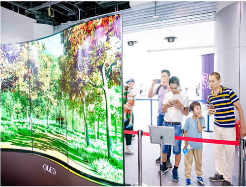 当暑假遇上OLED,一场关于未来生活的科技探秘